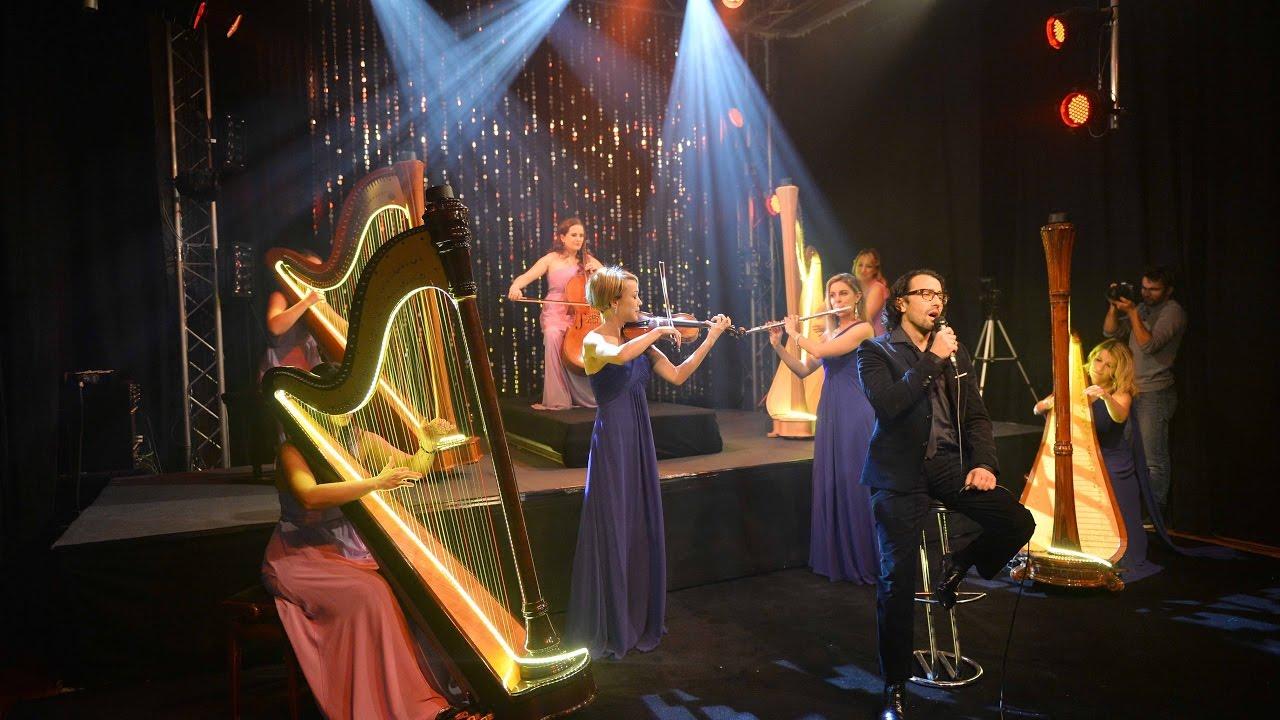 Harpsody Orchestra et Mathieu Sempere - cover Besame mucho