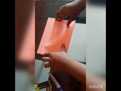 How to make chart  paper folder very easy