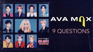 Ava Max - 9 Questions