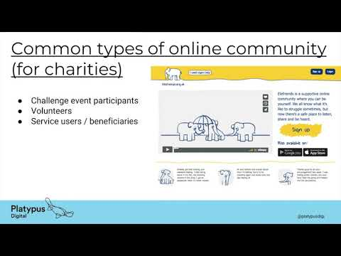 Online Communities - Control R from Platypus Digital