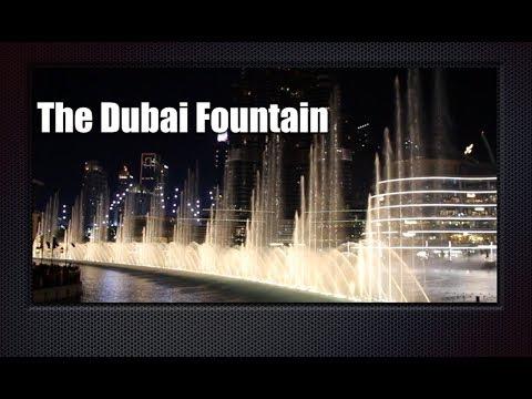 The Dubai Fountain ||  Tourist attraction in Dubai || Best Choreographed Fountains