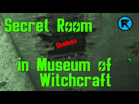 Fallout 4 | Secret Room in Museum of Witchcraft