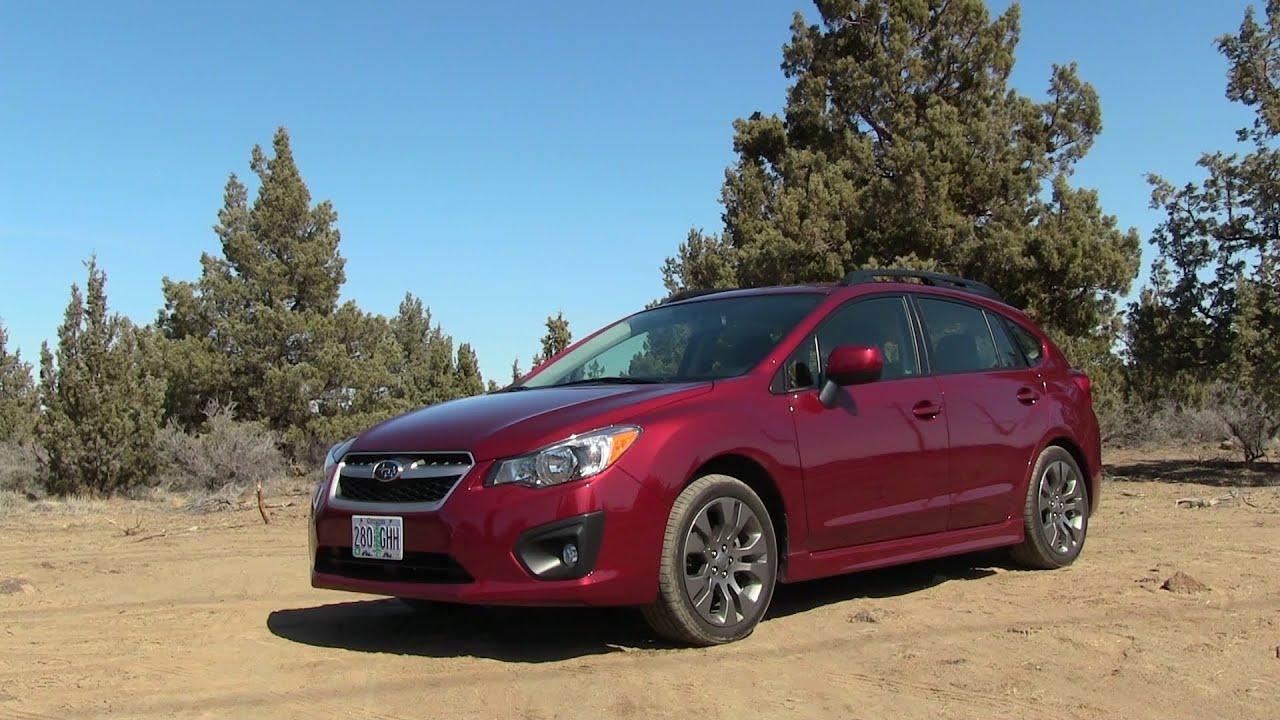 2013 subaru impreza sport car review youtube vanachro Choice Image