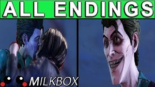 Batman The Enemy Within Episode 4 ALL ENDINGS | What Ails You