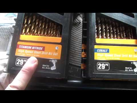 Drill Hog drill bit review, drilling bed frame angle iron,