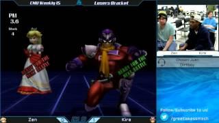 CMU Weekly 15 - Zen (Peach/Sheik) vs. Kira (Falcon)