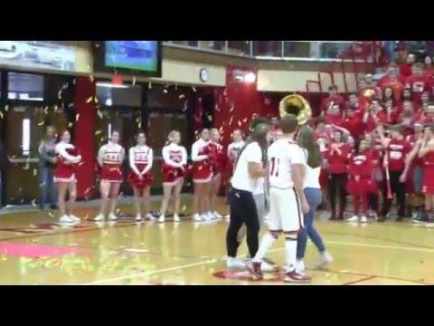 Plymouth High School's Winter Homecoming Pep Rally