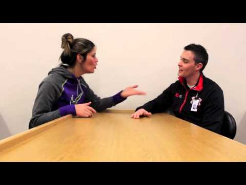 University of Utah Athletic Training Month (when Bachelor does Speed Dating)