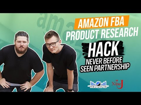NEW Amazon FBA Product Research HACK! NEVER BEFORE SEEN PARTNERSHIP