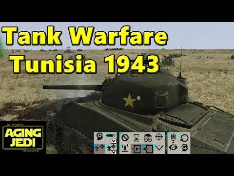 Tank Warfare Tunisia 1943 - Learning The Game