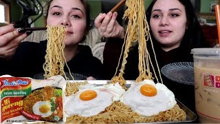 Indomie Goreng Noodles Mukbang!!!!