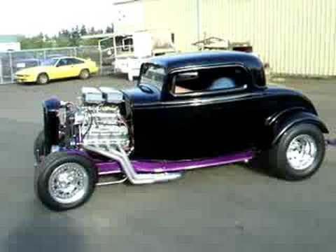 blown 32 ford coupe for sale youtube. Black Bedroom Furniture Sets. Home Design Ideas