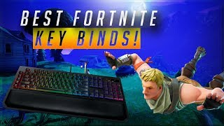Best Fortnite Key Binds on PC 2018 Updated! (Season 5 of Fortnite) Mouse and Keyboard