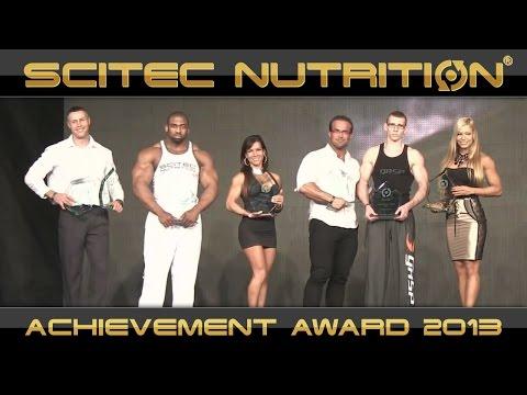 SCITEC NUTRITION ACHIEVEMENT AWARD 2013