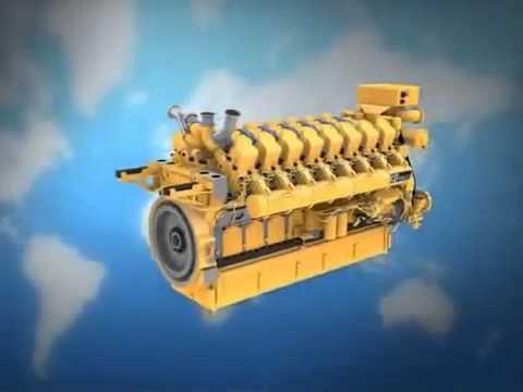 Как устроена дизель генераторная установка Caterpillar C175-16