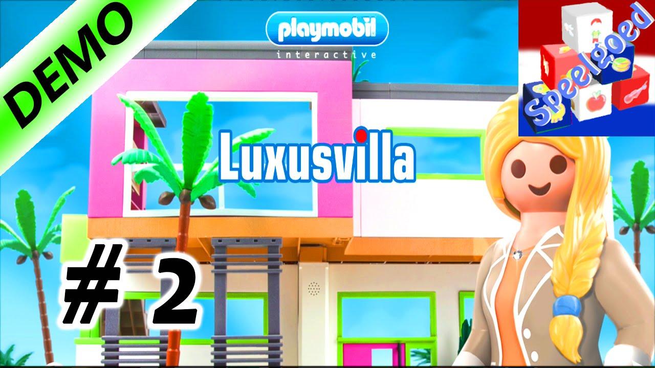 PLAYMOBIL LUXE VILLA – Wij kopen de eerste meubels – Kinderapp ...