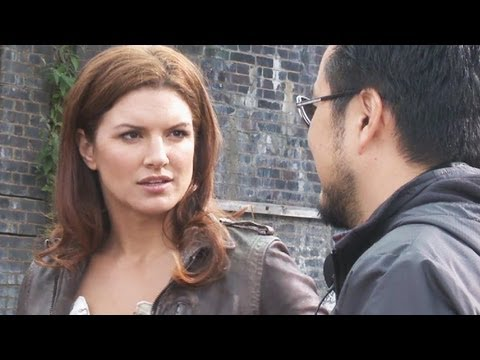 Fast & Furious 6 - Gina Carano & Luke Evans On Set Interview