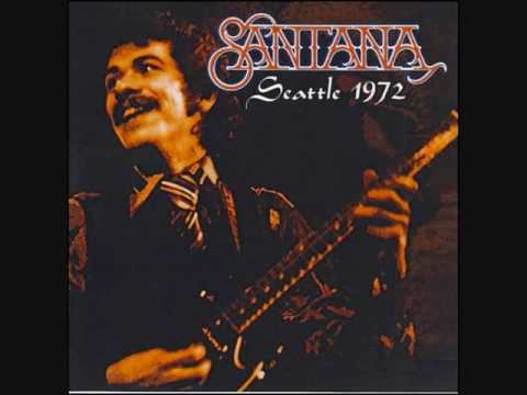 CARLOS SANTANA -- LIVE AT SEATTLE ! 1972