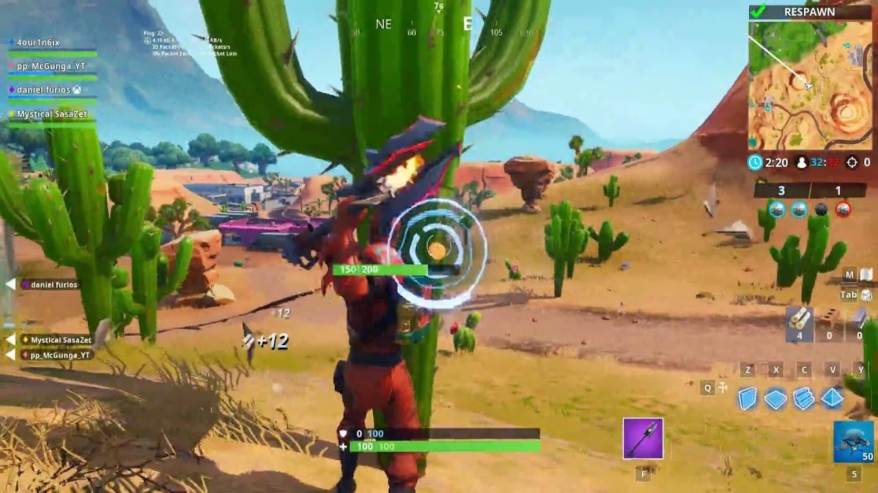 Destroy Cacti In The Desert Week 3 Season 8 Challenges Fortnite
