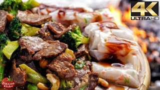 Best Szechuan Beef Ever! - Winter Cooking in 4K