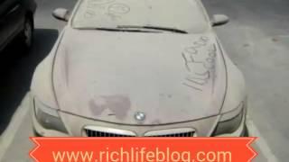 Super cars abandoned in Dubai