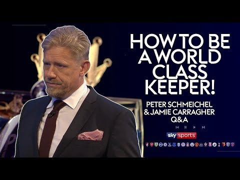 How to be a world class goalkeeper! | Peter Schmeichel & Jamie Carragher | Twitter Q&A