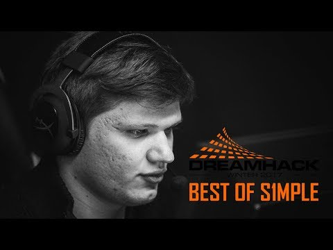 Best of s1mple at Dreamhack Winter 2017 (Most Valuable Player)