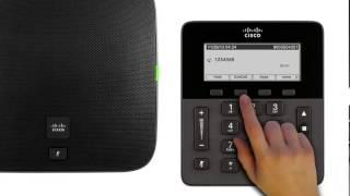 cisco 8831 conference phone make calls