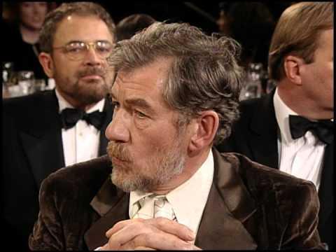 Golden Globes 1997 Ian McKellen Wins