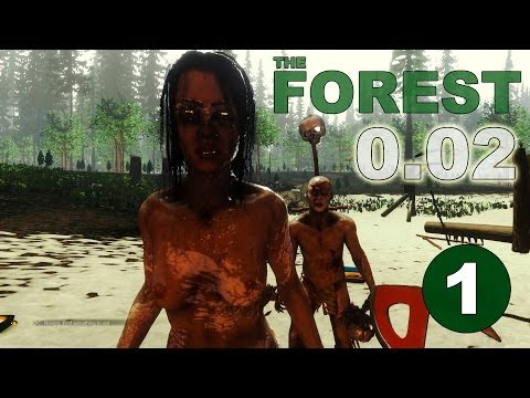 The Forest. Patch 0.02.