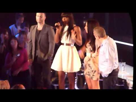 X Factor Auditions 2011- Manchester- Judges Arriving