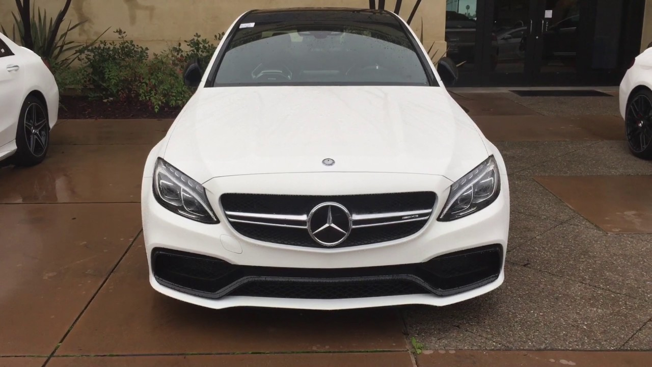 white lightning 2017 c63s amg review by norcal mercedes benz youtube. Black Bedroom Furniture Sets. Home Design Ideas