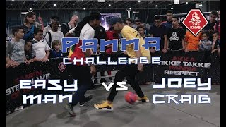 PANNA CHALLENGE: JOEY CRAIG vs. EASY MAN