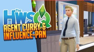 SIMS 4: HWSQ 💛 038: AGENT Curry & INFLUENCE-Pan