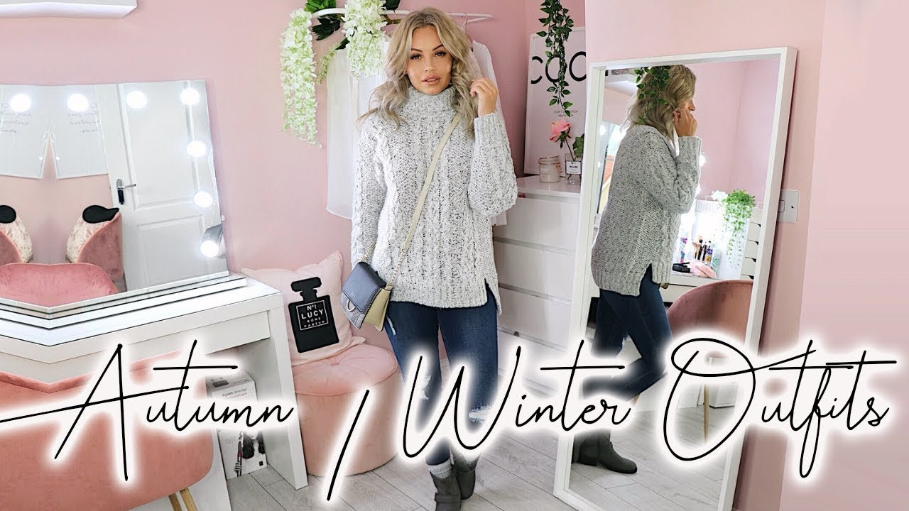 [VIDEO] - AUTUMN/WINTER OUTFITS | MATALAN HAUL | Lucy Jessica Carter AD 4
