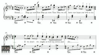 Happy New Year - ABBA - FREE piano sheet music (original chords)