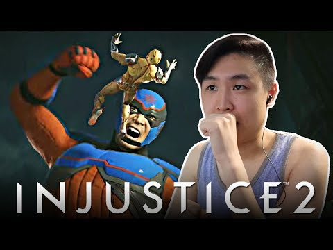 Injustice 2 - Atom Gameplay Reveal Trailer!! [REACTION]