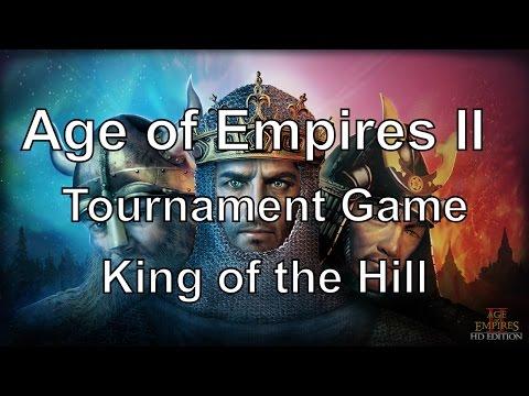 Aoe2: Tournament - King of the Hill #3 (2v2v2v2)