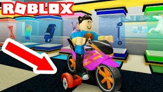 RIDING THE ULTIMATE HOVERBOARD MOTORCYCLE à ROBLOX TRANSPORT TYCOON