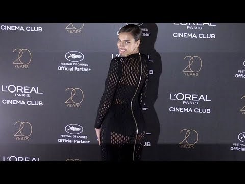 Irina Shayk and L Oreal Paris Celebrates 20 Years of Cinema & Beauty in Cannes