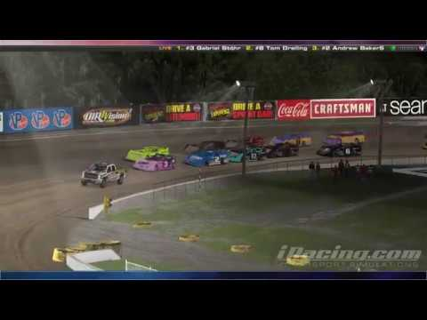 iRacing.com - Dirt Limited Late Model - Volusia Speedway Park
