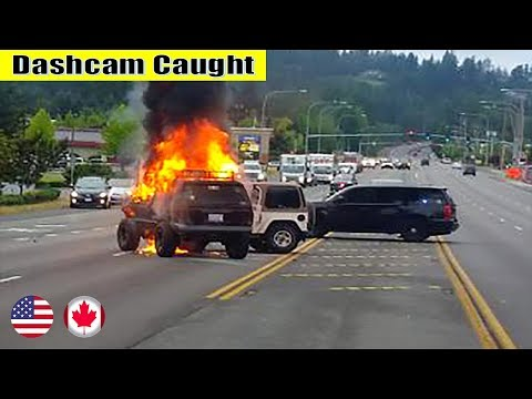 Ultimate North American Cars Driving Fails Compilation - 240 [Dash Cam Caught Video]