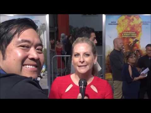 CHIPS Movie Premiere Red Carpet Interview with Carly Hatter