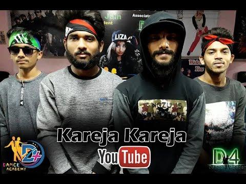 Kareja (Kare Ja) | Badshah Feat. Aastha Gill | Dance Choreography By D4 Dance Academy
