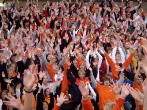 "Fallston High School Flash Mob Homecoming 2009 ""I Gotta Feeling"""