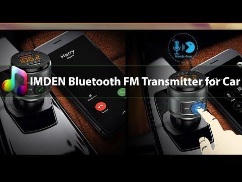 Best Bluetooth FM Transmitter For Car  2019 - IMDEN C57