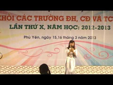 Tiếng hát HSSV 2013 - Cô gái ngành Y