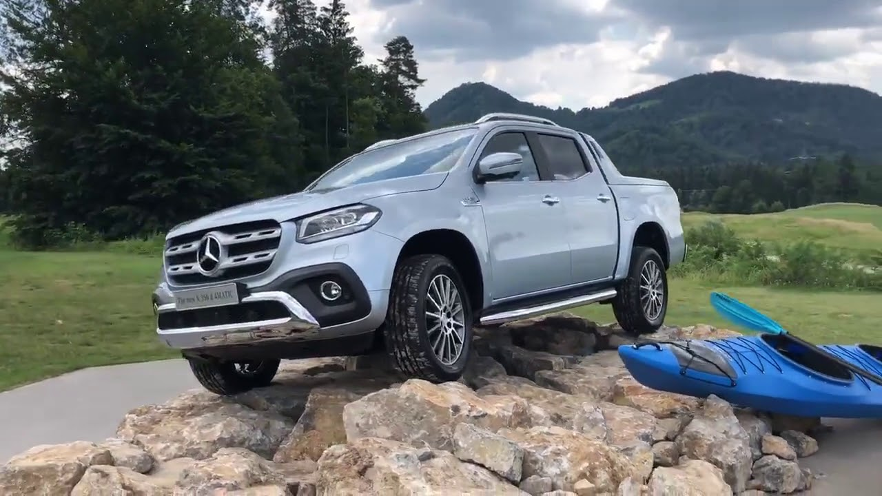 new 2019 mercedes x350d 4matic 100km h in top speed. Black Bedroom Furniture Sets. Home Design Ideas
