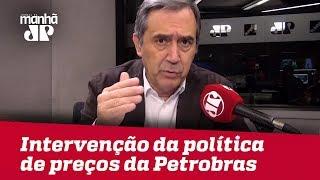 Houve intervenção explícita da política de preços da Petrobras | #MarcoAntonioVilla