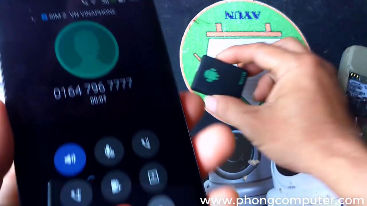 Thiết bị định vị – Mini A8 GẮN SIM GSM/GPRS/GPS